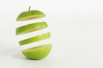 سیب معلق