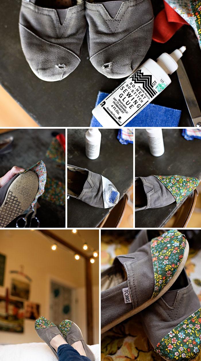 تعمیر هنرمندانه کفش ها