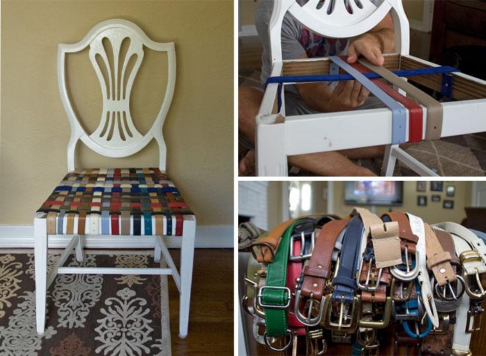 تعمیر هنرمندانه صندلی های قدیمی