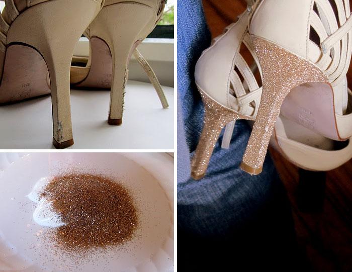 بازسازی هنرمندانه پاشنه کفش