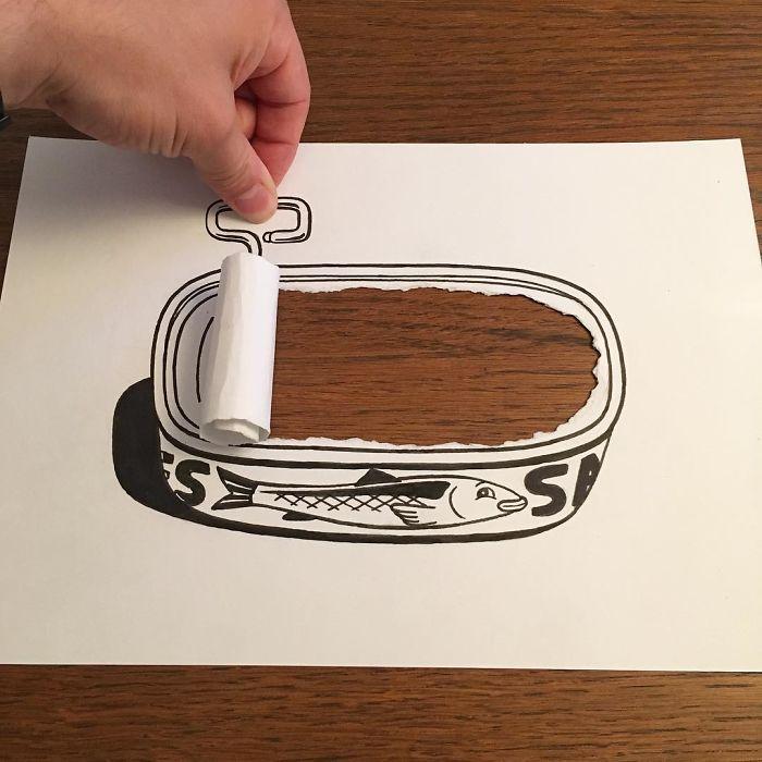 کاریکاتور سه بعدی