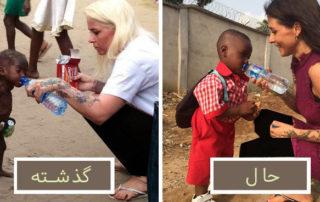 پسربچه در حال مرگ از گرسنگی