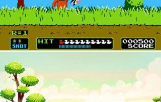 بازی شکار اردک Duck Hunt نینتندو