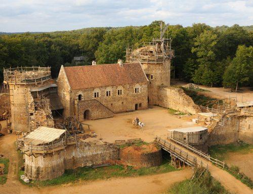 نتیجه باورنکردنی از ۲۰ سال زندگی در قلعه قرون وسطایی با استفاده از تکنیک های قرون وسطایی