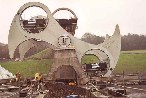 چرخ فلکیرک (Falkirk)(اسکاتلند)
