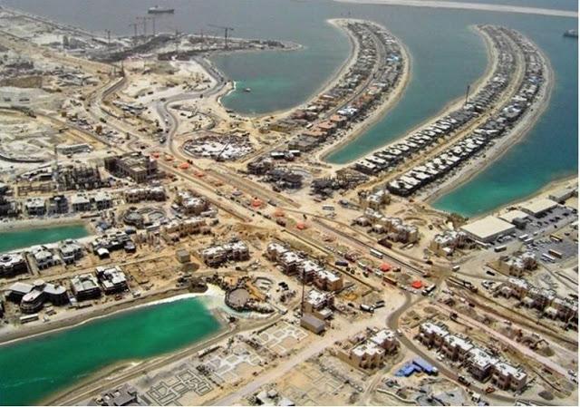 جزیره پالم (Palm) (دبی، امارات متحده عربی)
