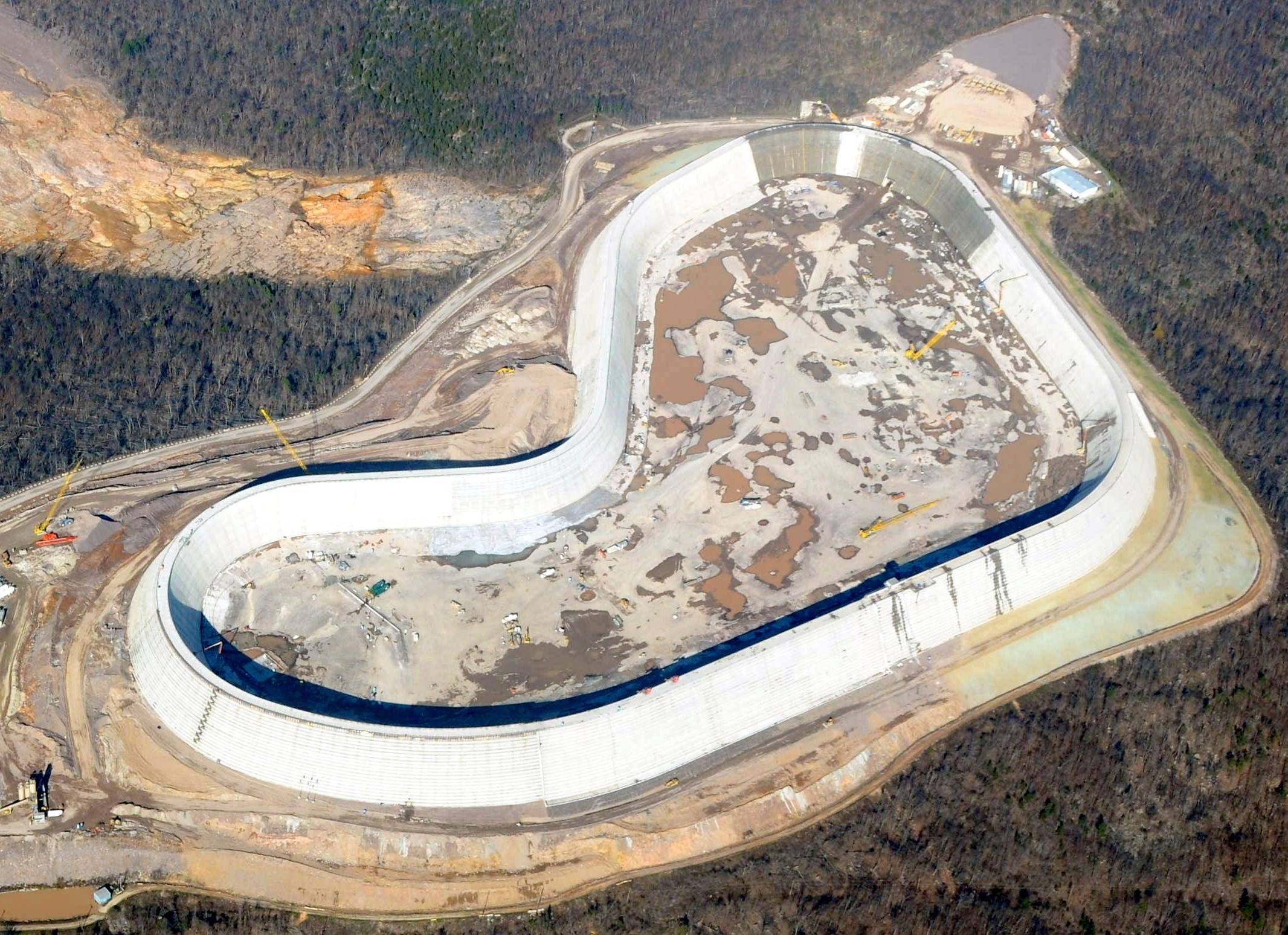 پروژه حفاظت از سد مخزن Upper Tauum Sauk (آناپولیس، میسوری)