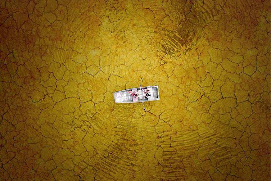 #11 Cracked Mud Boating : قایقرانی خانوادگی در دریاچه برک