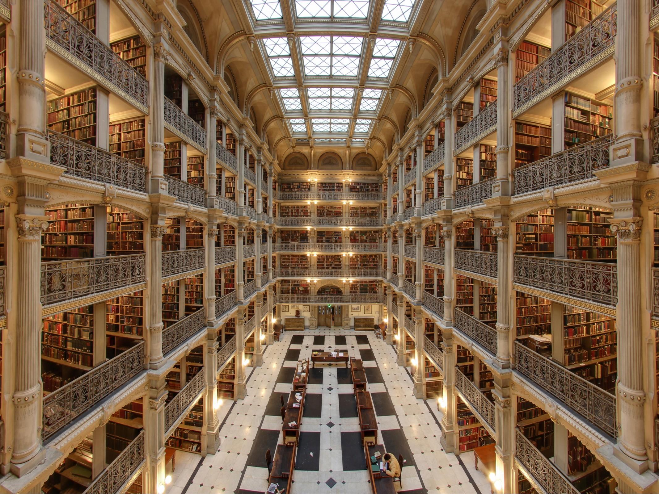 زیباترین کتابخانه های جهان