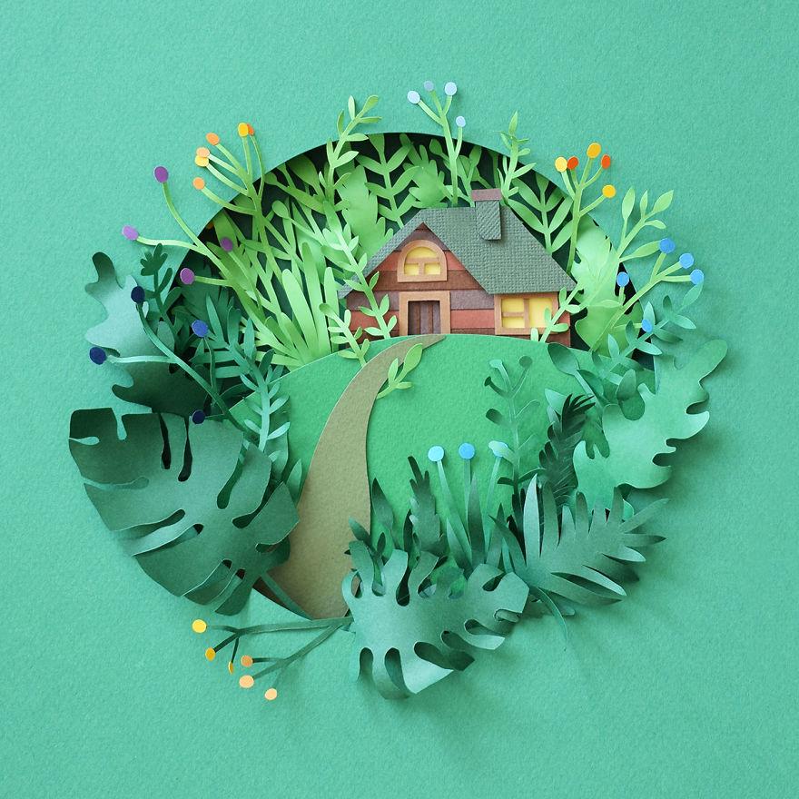 بهار کاغذی با هنرمندی مارگارت