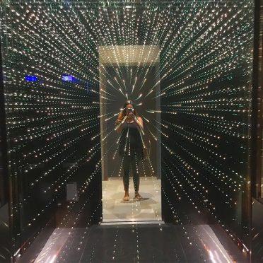 نورپردازی فوق العاده در آسانسور
