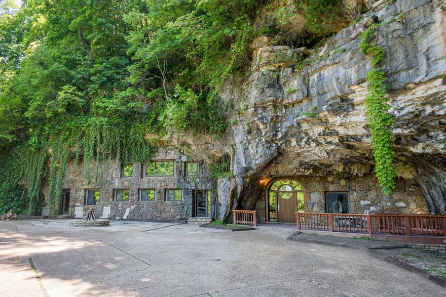 لوکس ترین خانه جهان پنهان شده در دل غار