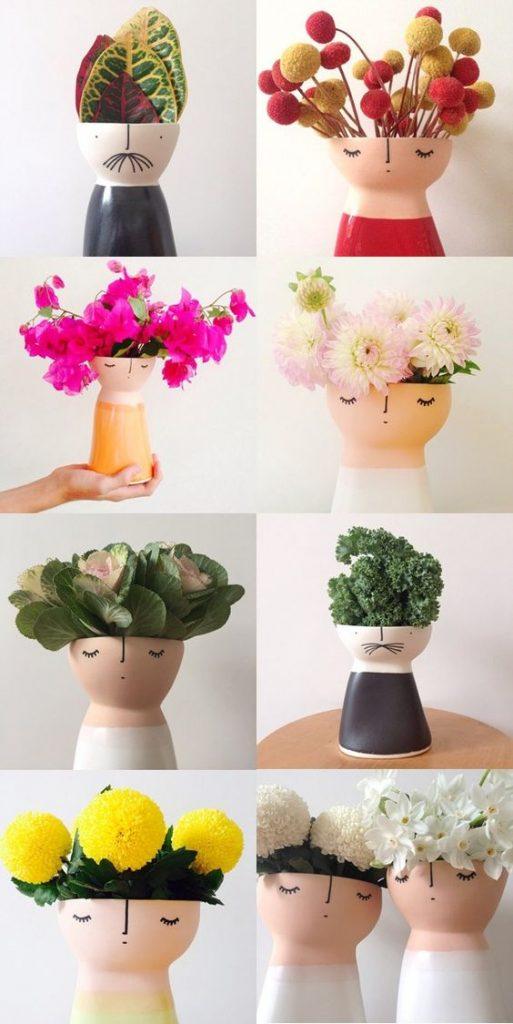 گلدان خلاقانه و زیبا