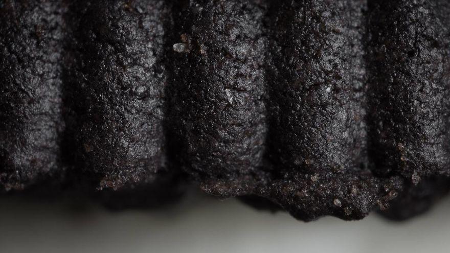کیک شکلاتی از نمای نزدیک