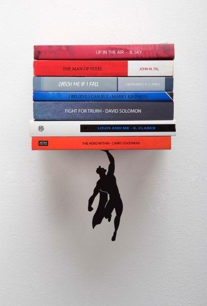 قفسه کتاب خلاقانه
